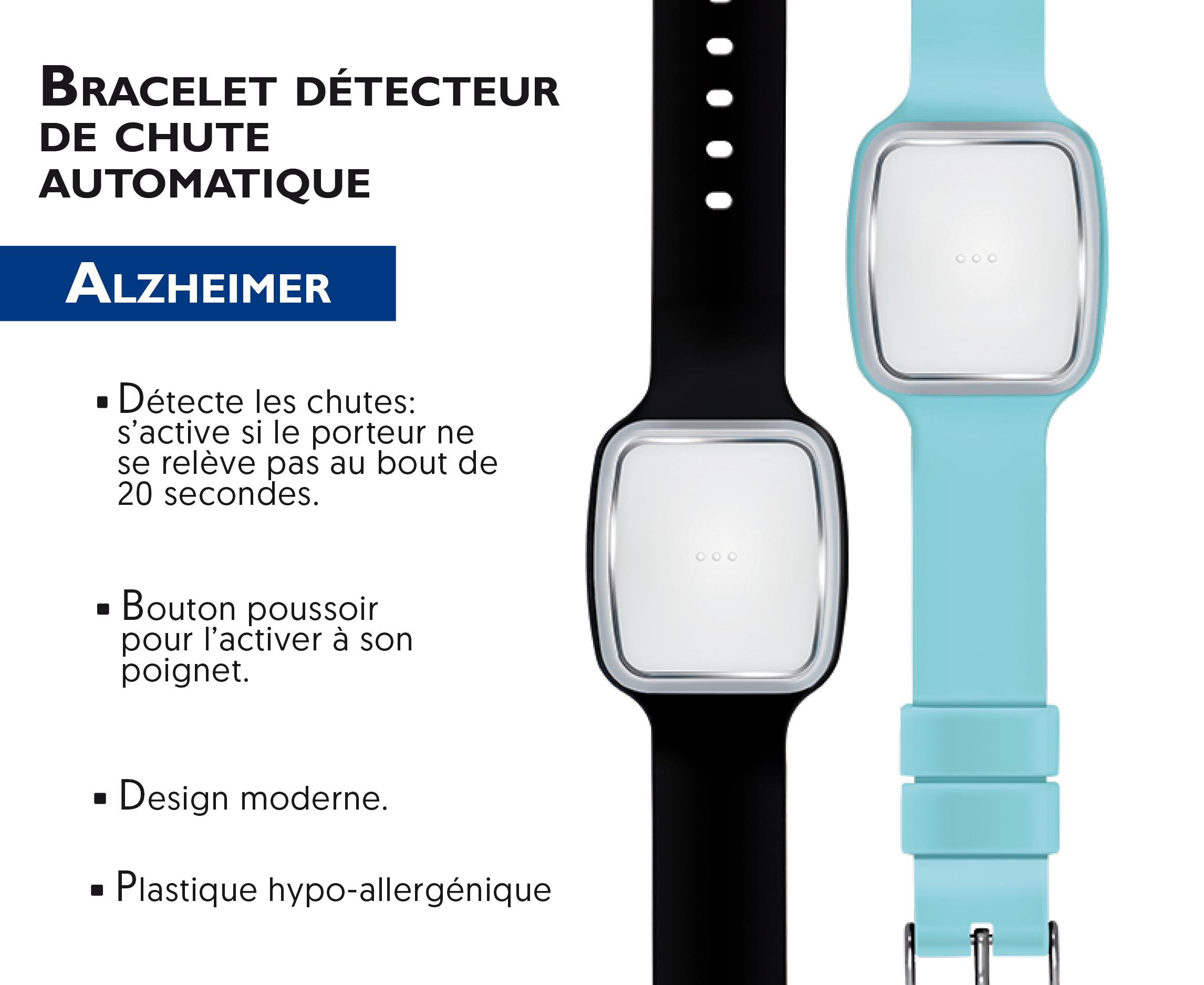 bracelet détecteur de chute