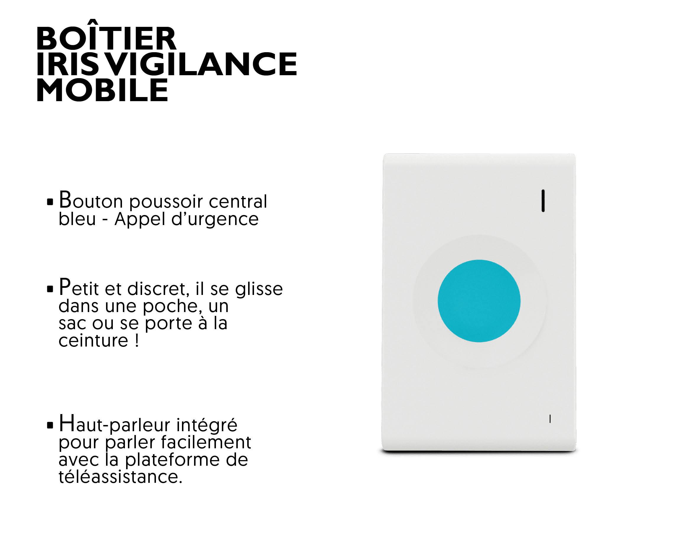 boitier pour téléassistance mobile senior