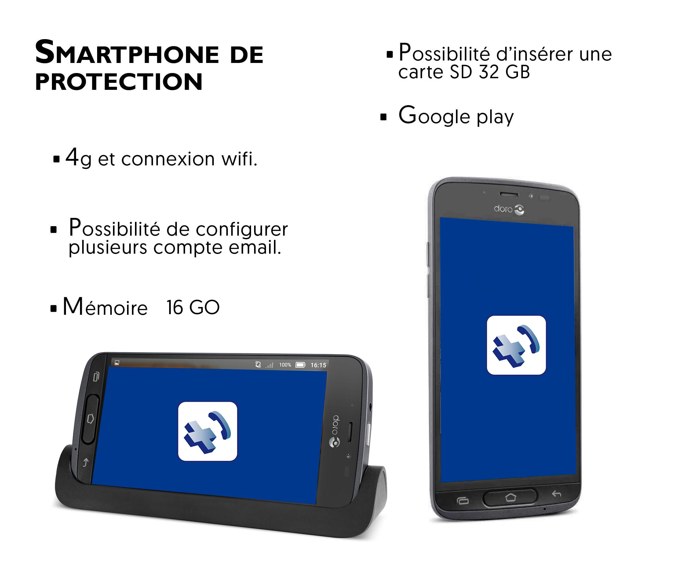 Iris mobile Pro professionnels de santé