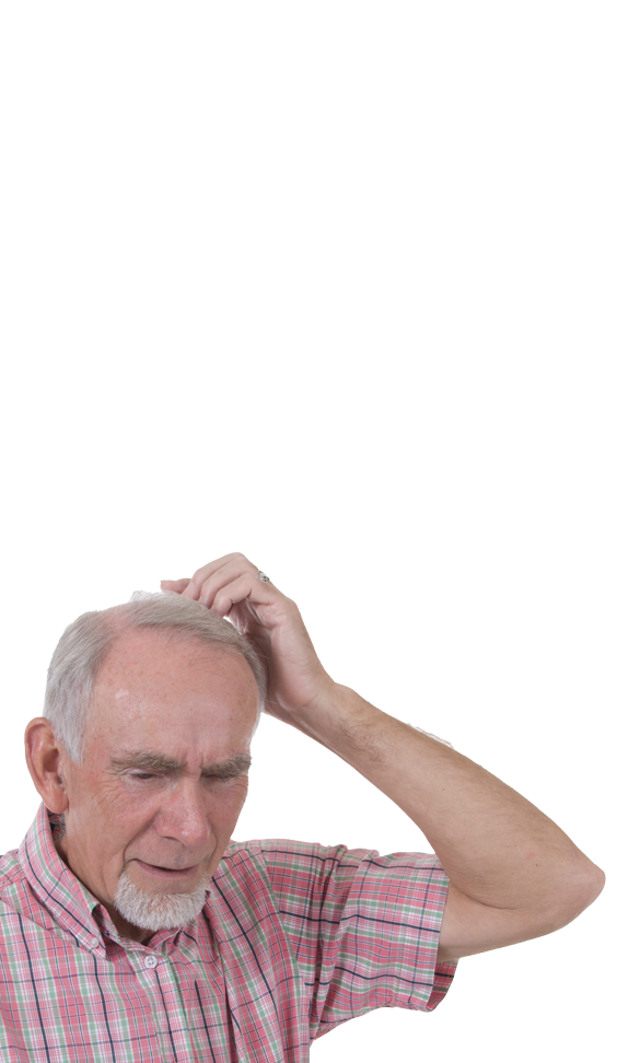 senior désorienté